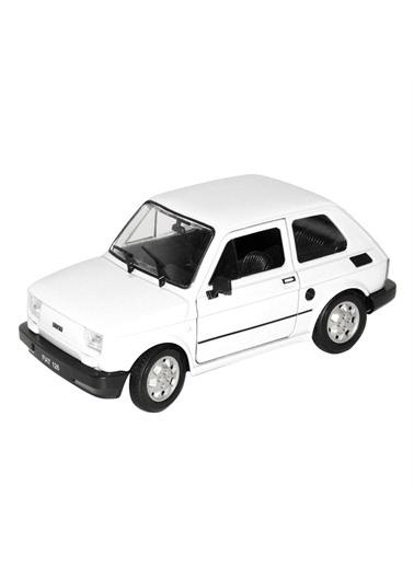 Welly Welly Fiat 126 Oyuncak Araba Renkli
